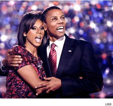 Keepingitreal: RuPaul: Doing Double Duty -- With The Obamas