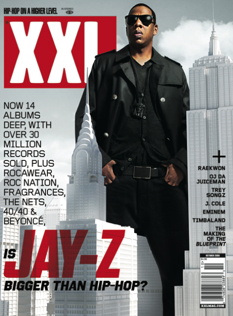 Keepingitreal jay z covers the october issue of xxl standing xxl in keepingitreal jay z covers the october issue of xxl standing xxl in nyc posing the question is jay z bigger than hip hop malvernweather Choice Image