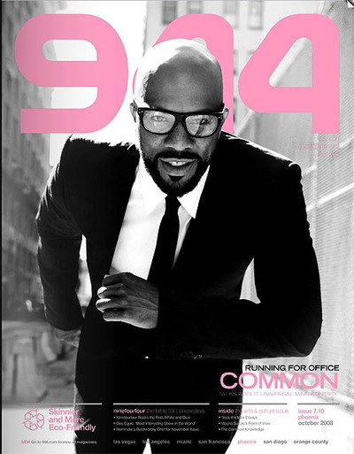 common rapper style. Rapper/Actor Common covers the